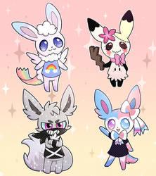 Pokemon Oc Villagers 1 by Amberlea-draws