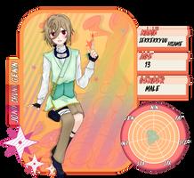 Nindozen: Sekkekkyuu Hisame Application by KokoChocoBaby