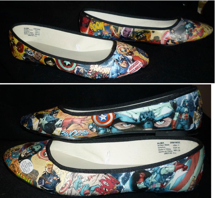 Cap Shoes! by lyandar