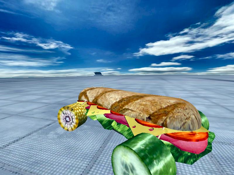 Sandwich Car by Blastile