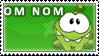 Om Nom Stamp V.2 by TBalazs2000
