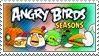 Angry Birds Seasons Stamp