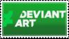 DeviantArt Logo 2014/15 stamp by TBalazs2000
