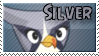 Silver Bird Stamp by TBalazs2000
