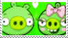 Minion pigxFemale pig stamp by TBalazs2000