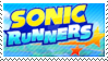 Sonic Runners Stamp by TBalazs2000