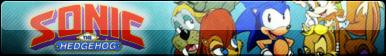 Sonic the Hedgehog TV Show (SatAM) Fan Button