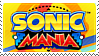 Sonic Mania stamp
