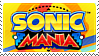 Sonic Mania stamp by TBalazs2000