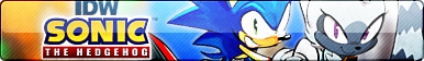 IDW Sonic the Hedgehog Button