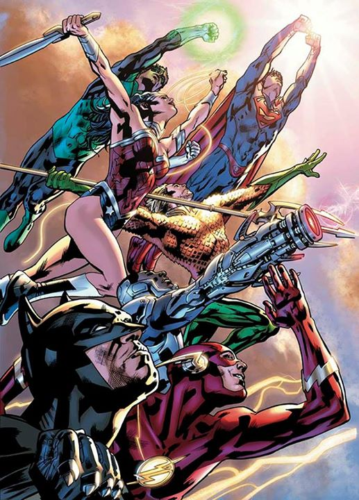 Bryan Hitch's JLA by jcnkcks