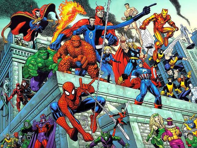 Spider-Man and the Amazing Avengers (by Art Adams) by jcnkcks
