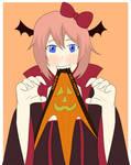 Vampire Sayori Vampire Wedgie