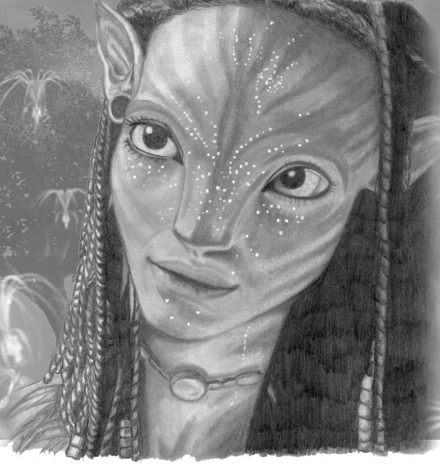 Neytiri by CatchAWaveGraphix