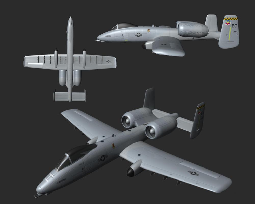 A-10 Warthog by CatchAWaveGraphix