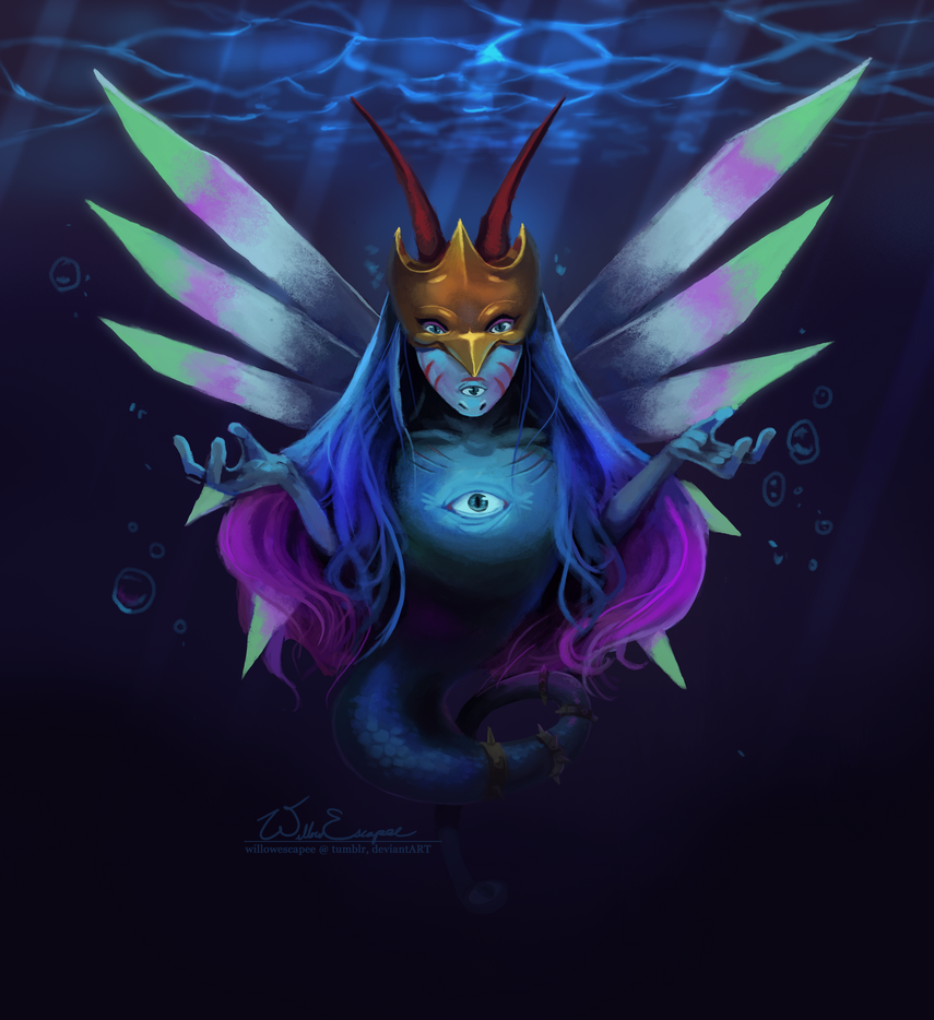 Legend of the Deep by WillowEscapee