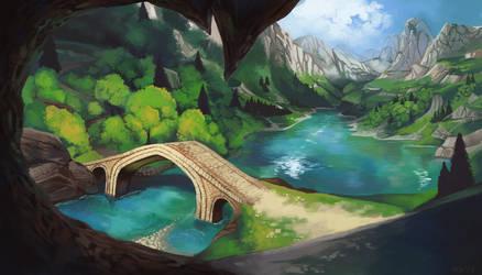 Bridge to Arberia by WillowEscapee