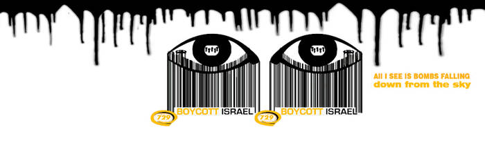 Boycott Israel cover images for facebook