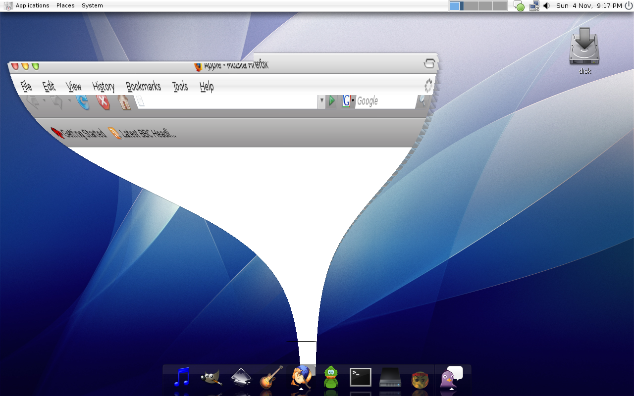 Mac OS X Tiger Theme by newdeal666