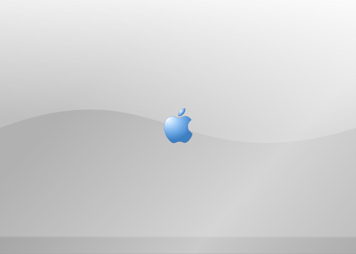 Mac Splash Screen Blue by newdeal666