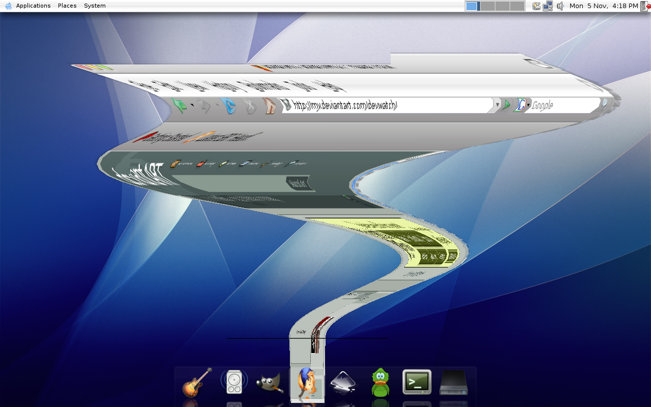 Mac OS X Tiger Theme 2 by newdeal666