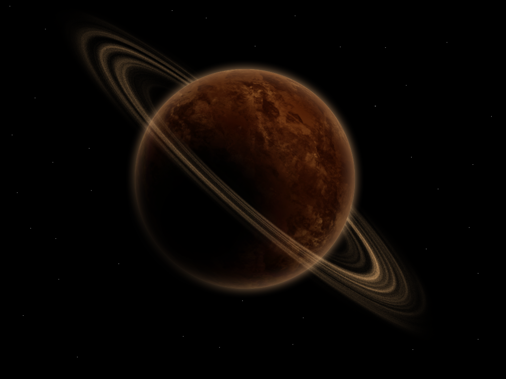 First Ringed Planet by newdeal666