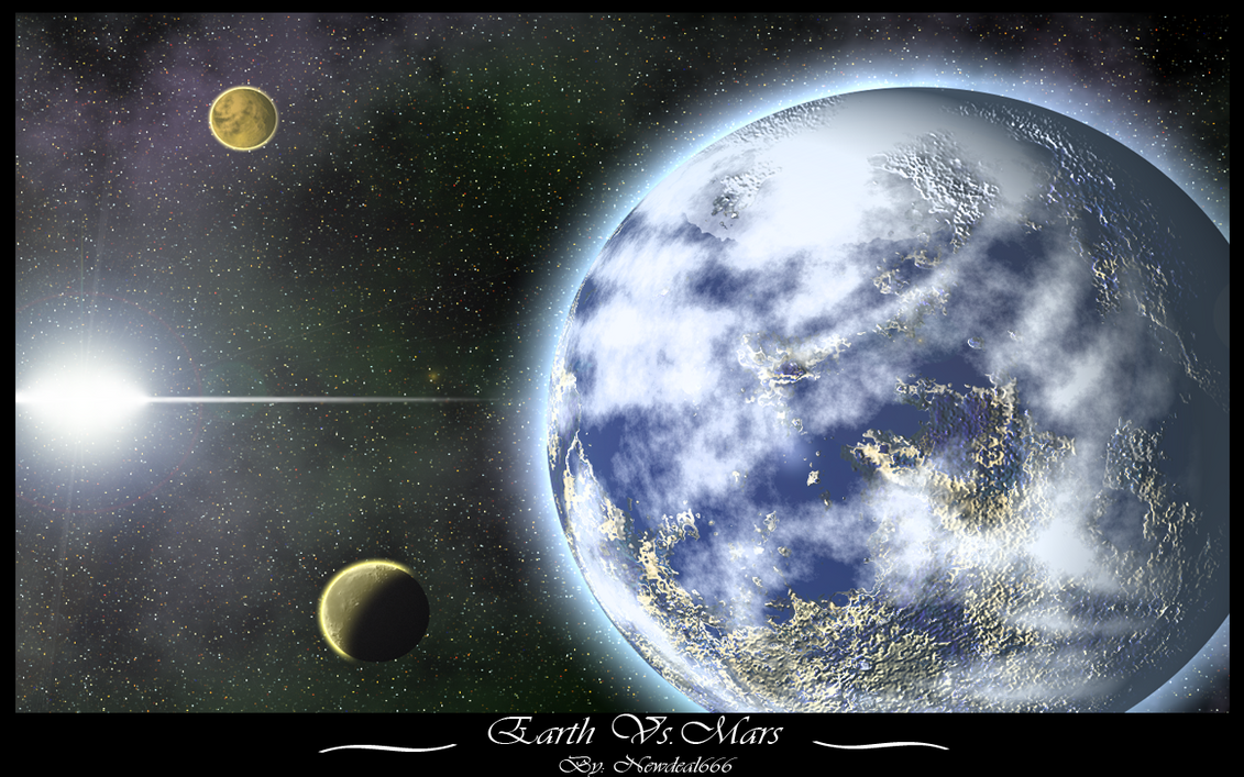 Earth Vs. Mars Remake by newdeal666
