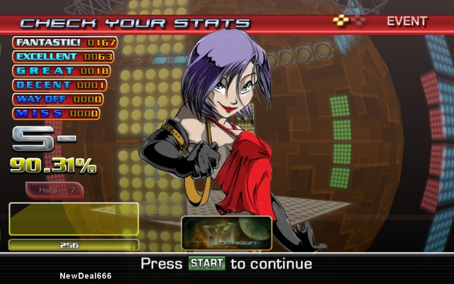 In The Groove my best score by newdeal666