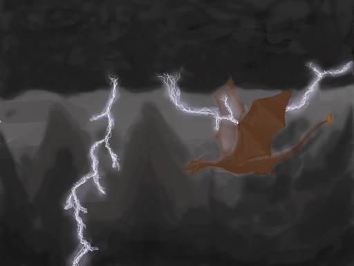 Stormy nite speed painting NDS by newdeal666