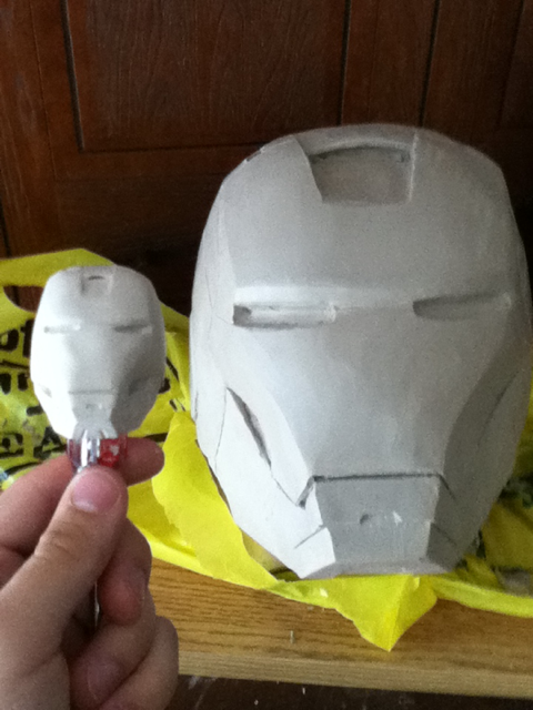 iron man clay WIP 3 by newdeal666
