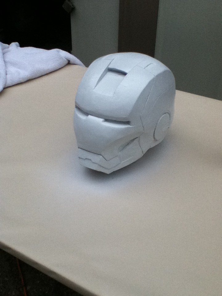 inon man Helmet base paint by newdeal666