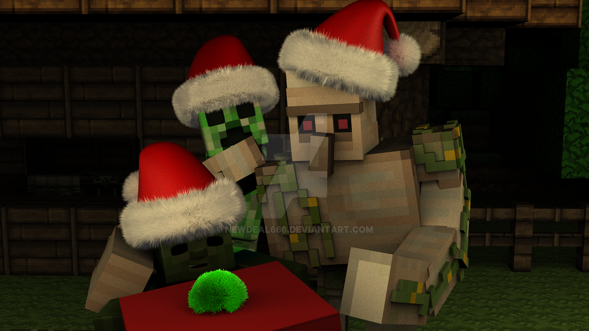 A Merry Minecraft Christmas by newdeal666