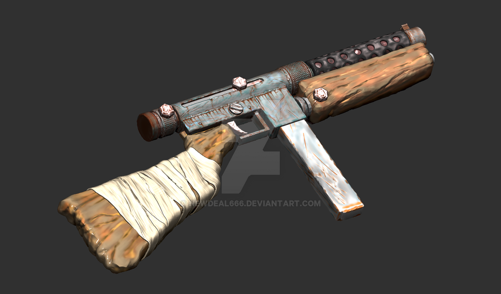 A Rust inspired  SMG by newdeal666