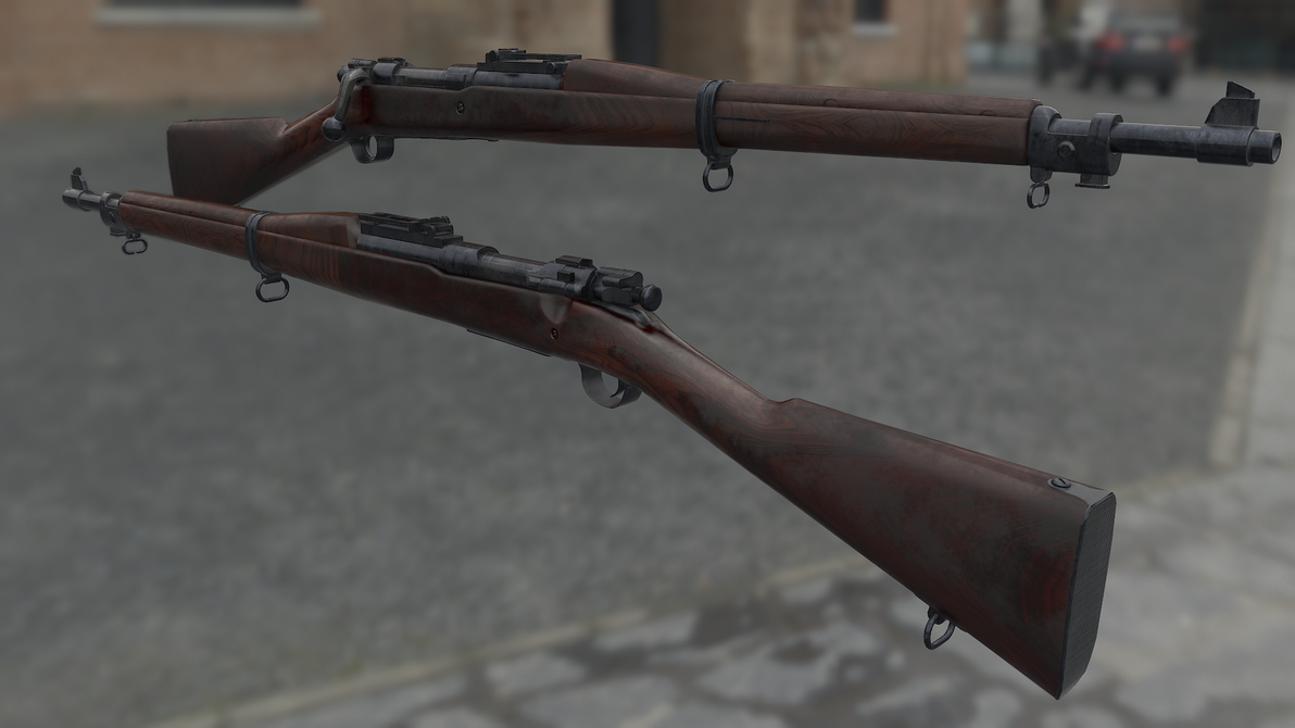 M1903 Springfields by newdeal666