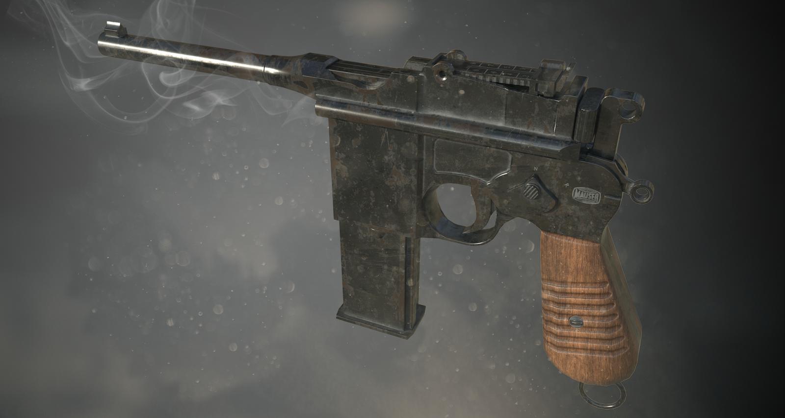 Mauser M712 schnellfeuer by newdeal666