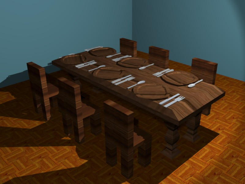 DINING ROOM by newdeal666