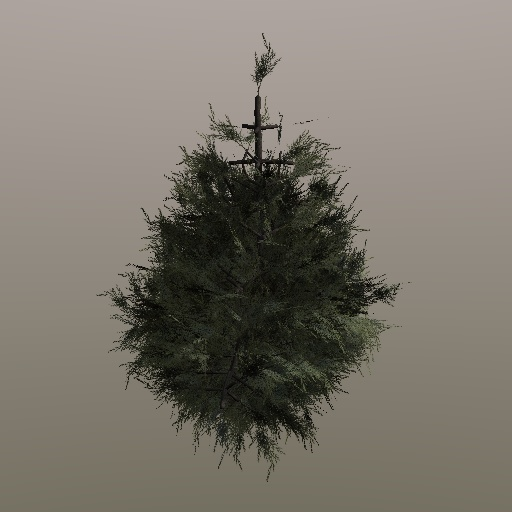 christmas tree by newdeal666