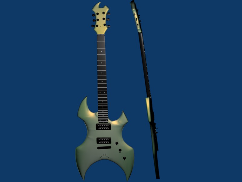 AX Guitar by newdeal666