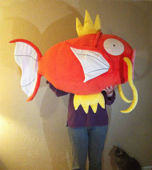 Life-Size Magikarp Plush by SewnRiver