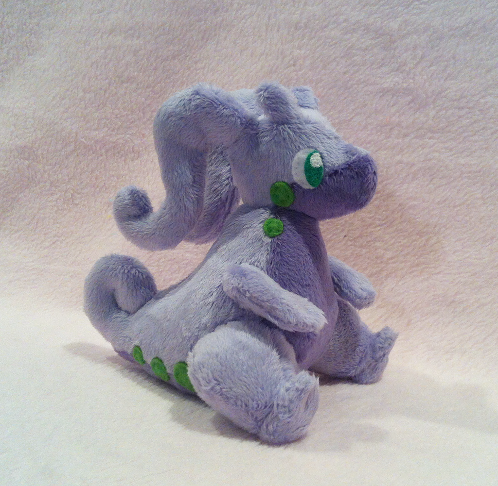 Goodra plushie by SewnRiver