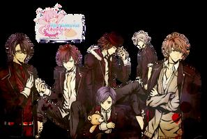 Render Diabolik Lovers by:Yui-chanKawaii by Yui-chanKawaii