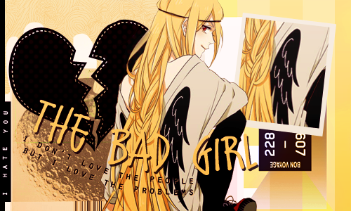 Bad Girl by Yui-chanKawaii
