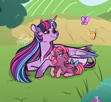 Youll grow up to be your own special little pony