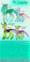 HeartverseAU Changelings and Breezies
