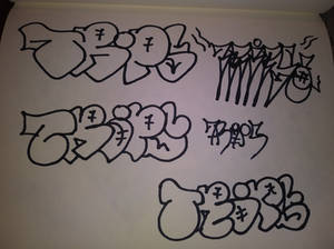 tags and throwies 14705