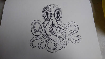 octopus sketch  040424 by tripsFFC