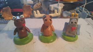 Moose sculpture series 1