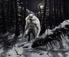 White Wolfee by RonniePriceII