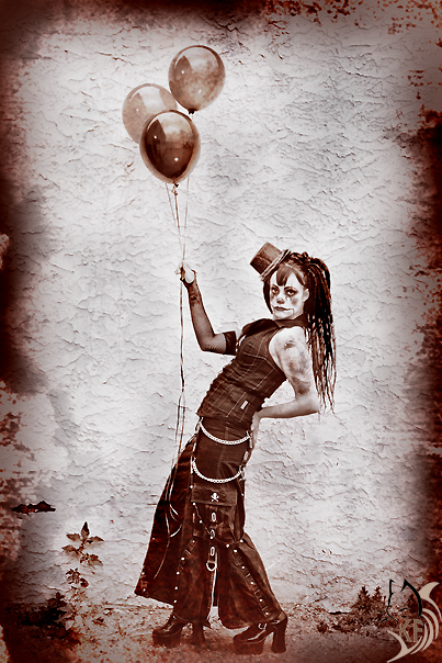 Mizz Clown Art by Ironwi11
