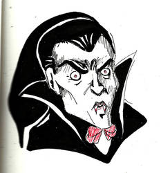 Inktober Dracula by Lun-de